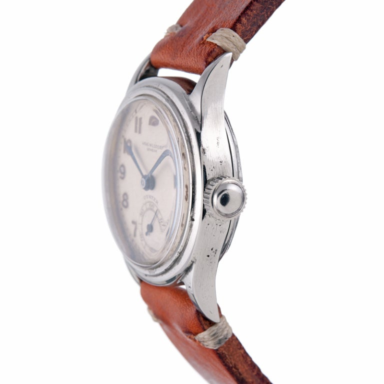 ROLEX Rare and Historically Important Steel Hans Wilsdorf Oyster Wristwatch image 4
