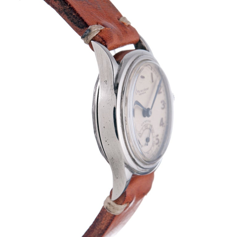 ROLEX Rare and Historically Important Steel Hans Wilsdorf Oyster Wristwatch image 5
