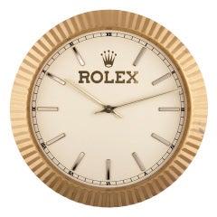 Rolex Wall Clock circa 1980s