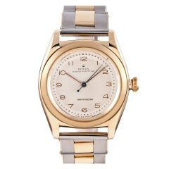 Rolex Charming Yellow Gold Bubbleback Watch with Original Dial