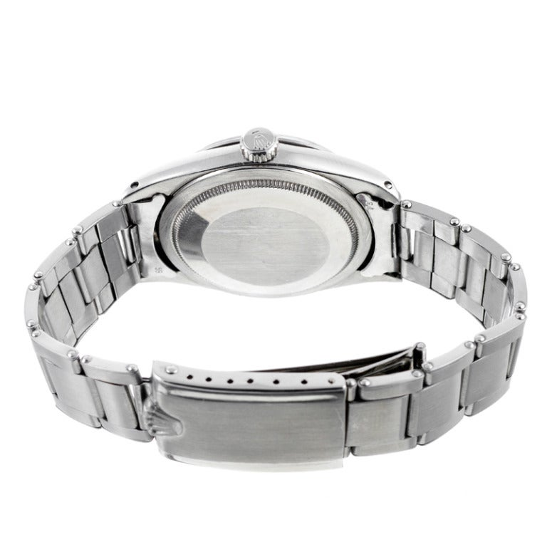 Men's Rolex Stainless Steel Explorer Wristwatch Ref 1016 circa 1967