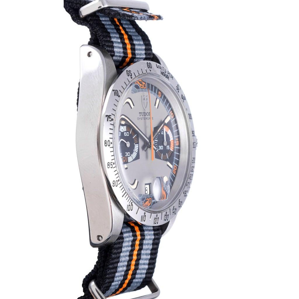 Tudor Stainless Steel OysterDate Monte Carlo Wristwatch ...