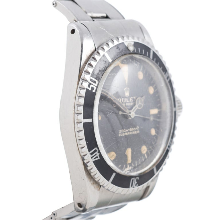 Rolex Stainless Steel Submariner Presented to the 1964 ...