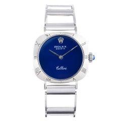 Rolex Lady's White Gold Cellini Wristwatch with Original Bracelet