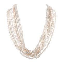 Tiffany & Co. Multi-Strand Pearl Necklace