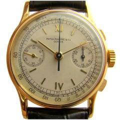 Ref #130R Rose-Gold Patek Philippe  Chronograph circa 1940