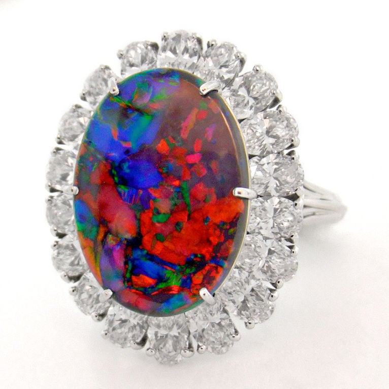CARTIER Magnificent Black Opal Ring 2