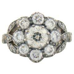 Handmade Victorian Design Diamond Ring