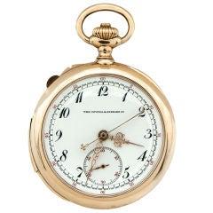 PATEK PHILIPPE Minute Repeater Pocket Watch