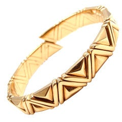 BULGARI Yellow Gold Bangle Bracelet