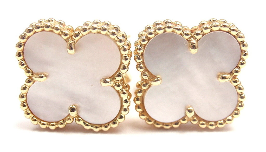 Van cleefs vintage alhambra jewelry line