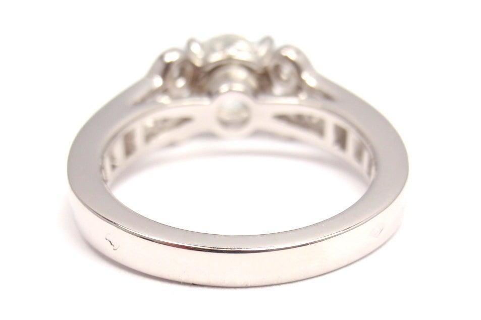 cartier 1 02ct platinum engagement ring at 1stdibs