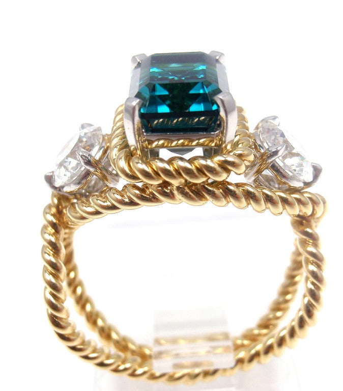 and co jean schlumberger blue tourmaline