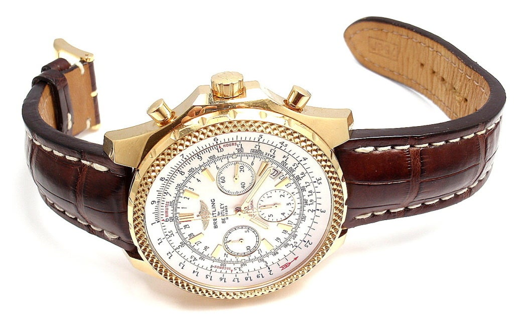 BREITLING Rose Gold Bentley Chronograph Wristwatch image 2