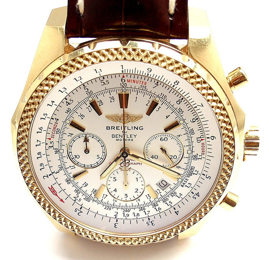 BREITLING Rose Gold Bentley Chronograph Wristwatch image 3