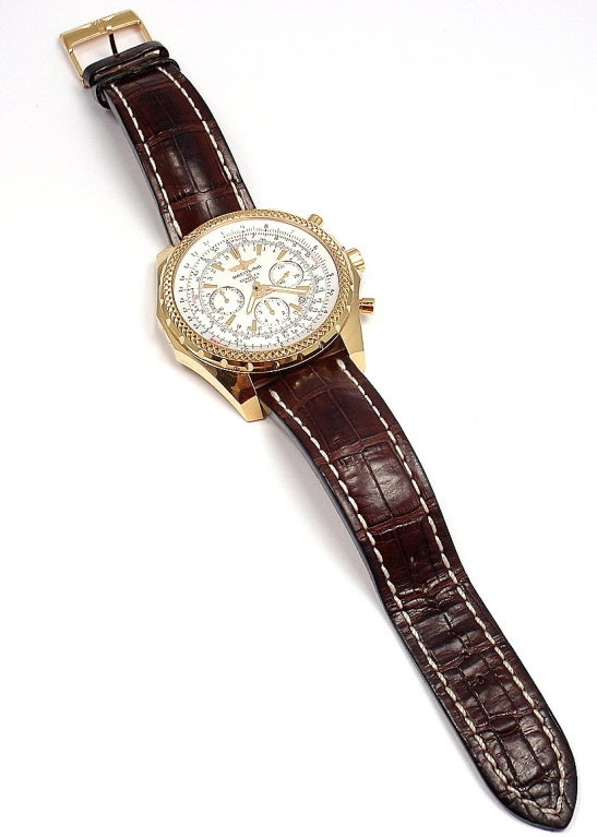 BREITLING Rose Gold Bentley Chronograph Wristwatch image 4