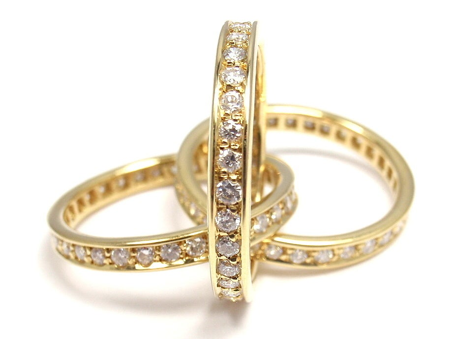 cartier 1 60ct yellow gold ring at 1stdibs