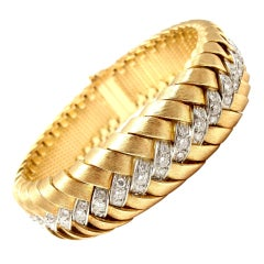 SPRITZER & FUHRMANN Diamond Yellow Gold Bracelet Watch