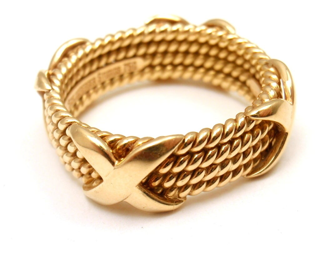 Tiffany And Co Gold Rings