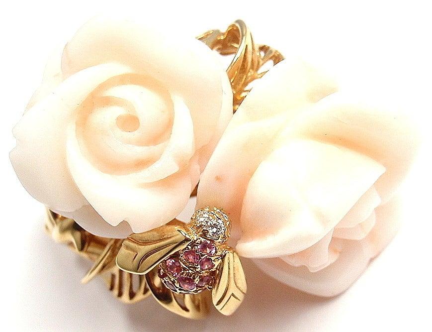 Dior Rose Diamond Ring
