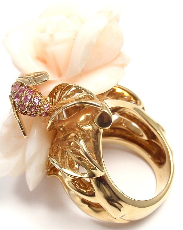 Dior Rings Flowers