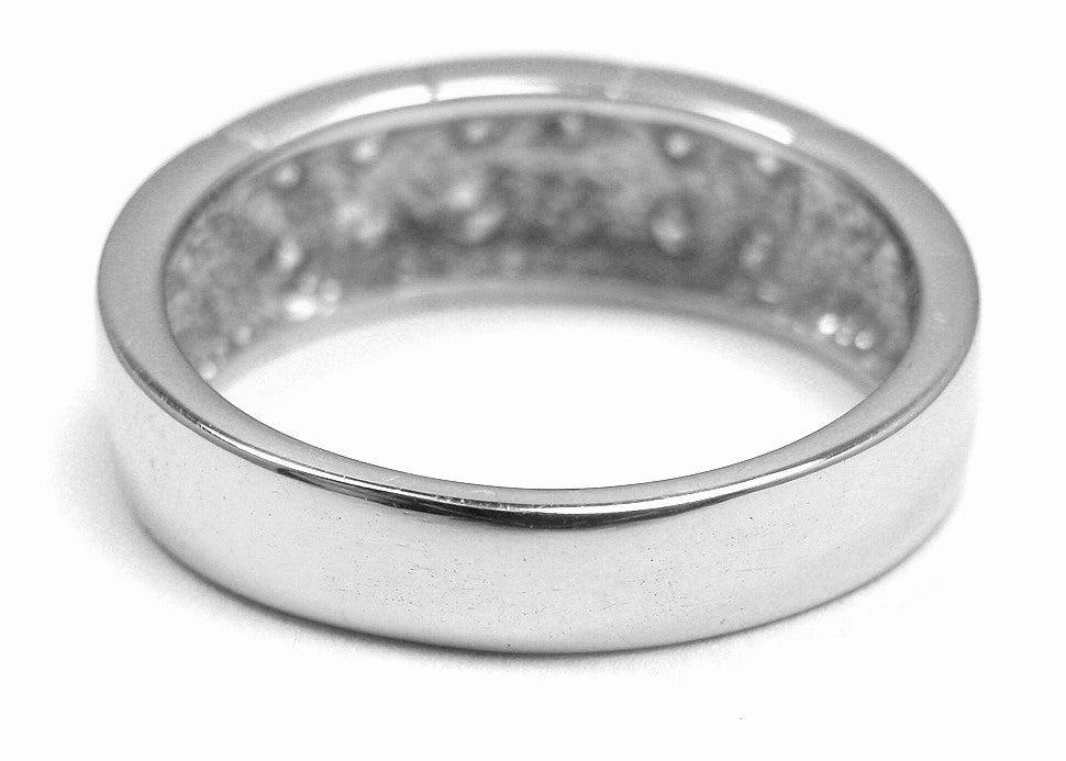 cartier platinum ring at 1stdibs