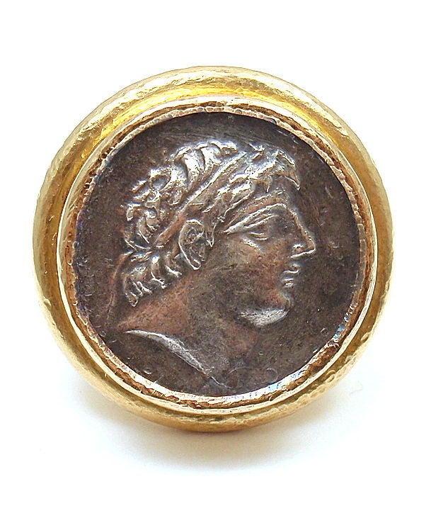 Elizabeth Locke Coin Ring