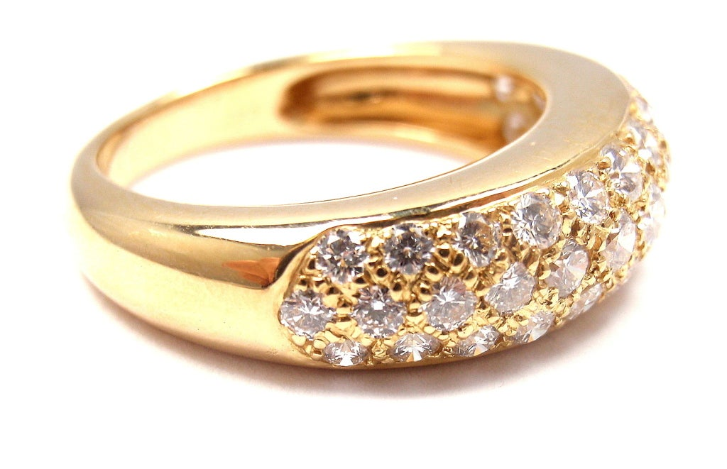 cartier yellow gold ring at 1stdibs