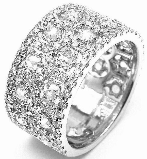 Gregg Ruth Diamond White Gold Band Ring At 1stdibs. Classic Diamond Engagement Rings. Winter Bracelet. Bangle Type Bracelet. Custom Mens Wedding Rings. Inlay Pendant. Wooden Bead Necklace. Top Man Earrings. Plugs Earrings