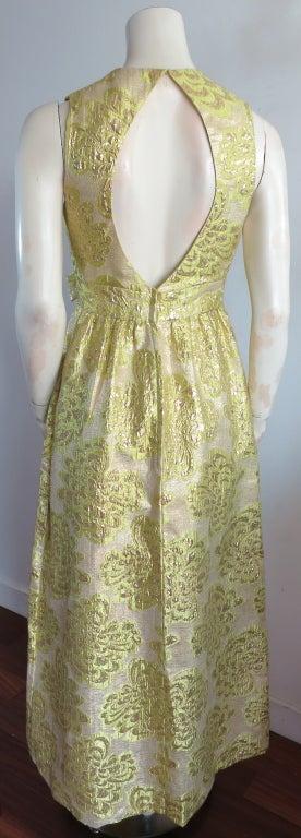 vintage kent originals 1960 s era floral brocade dress at