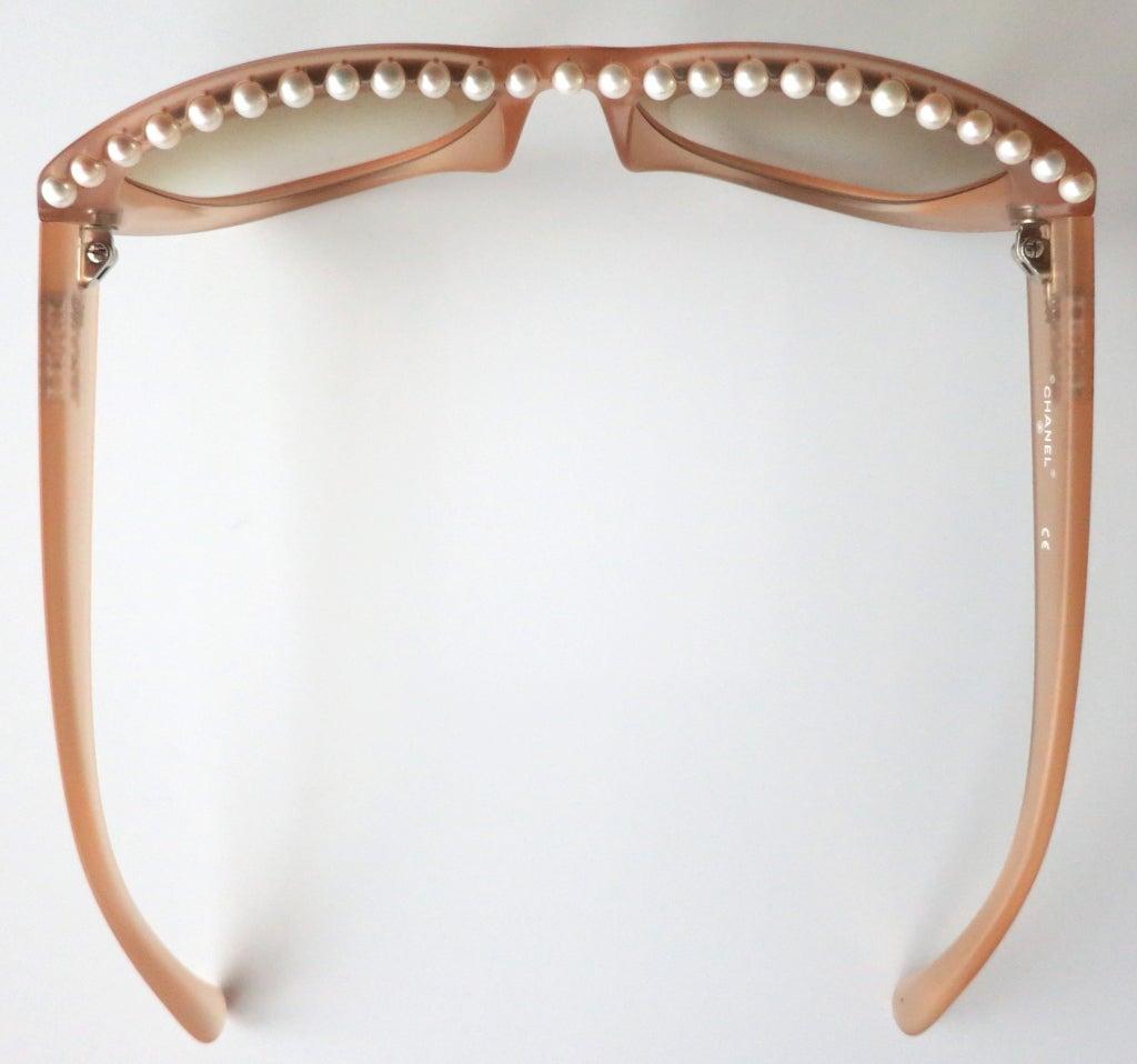 Unworn CHANEL PARIS encapsulated fresh water pearl sunglasses image 2