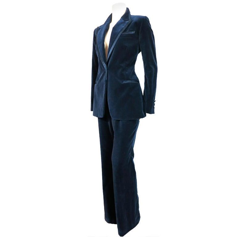 Amazing Dior Tuxedo Dress Blazer Dress Coat Dress Jacket Dress Black Suits