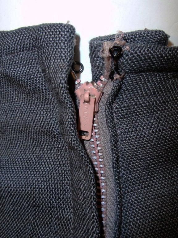 Rudi Gernreich Vintage Gray Cape Jacket & Skirt Suit 10