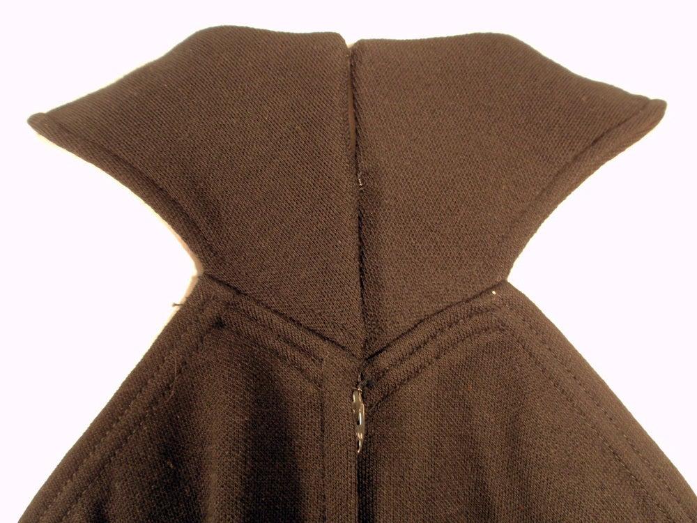 Rudi Gernreich Black Wool Knit Sleeveless Long Gown For Sale 6