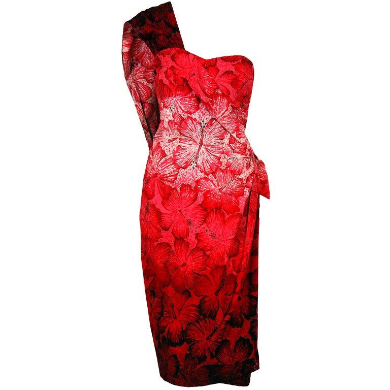 Vintage Designer Hawaiian Dresses