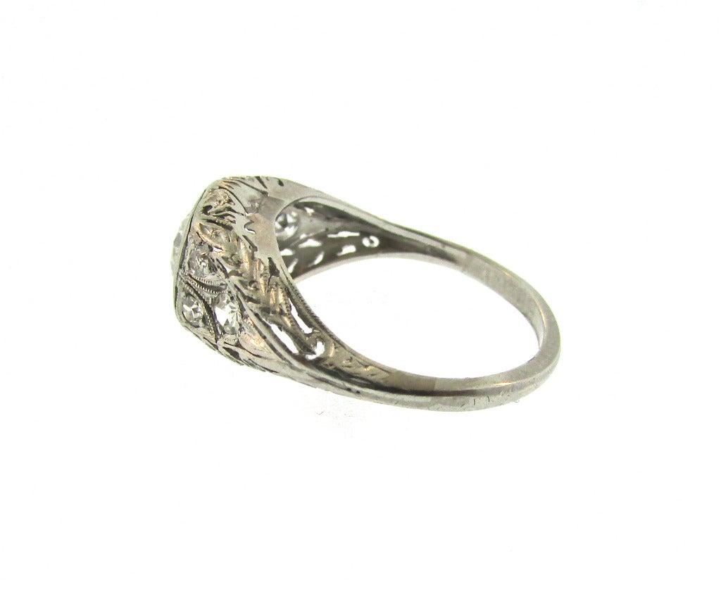 Edwardian Diamond Engagement Ring At 1stdibs