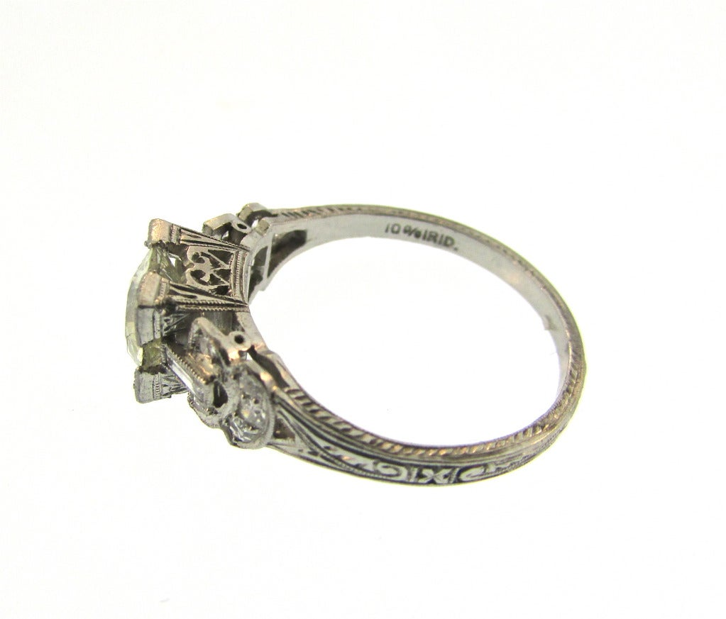 Edwardian Diamond Engagement Ring For Sale At 1stdibs