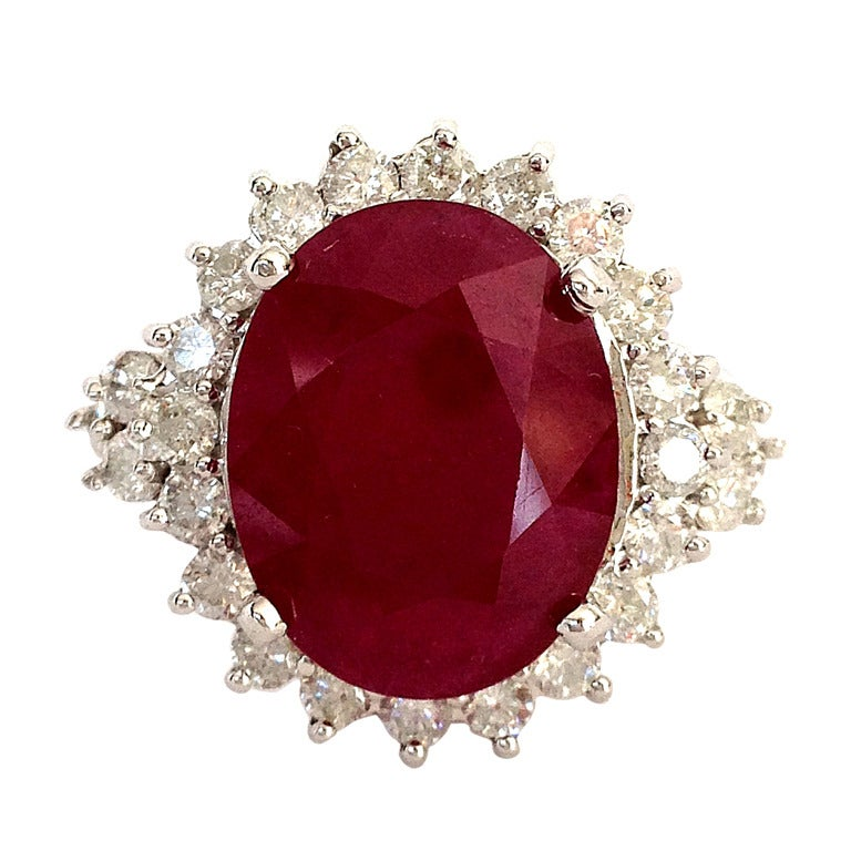 Ruby Cocktail Ring 8