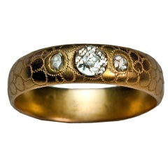 Antique Russian Wedding Ring