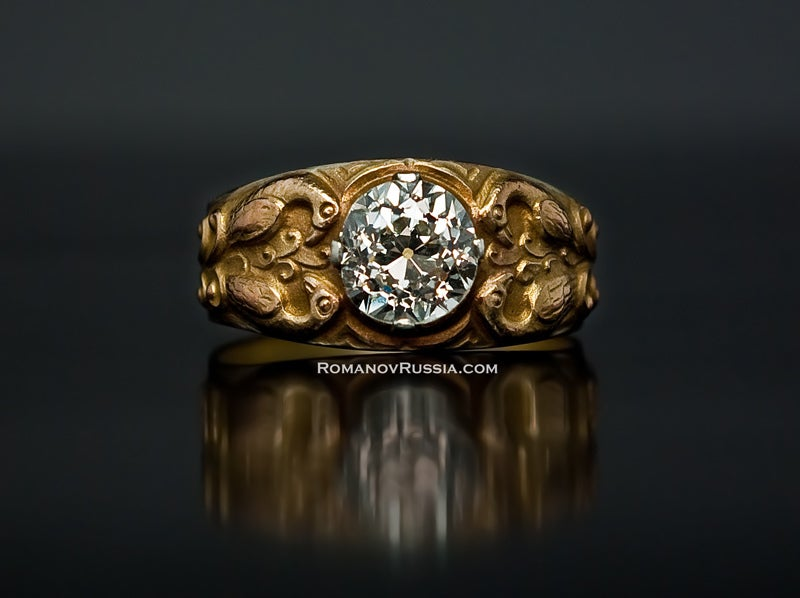 Men S Ring The Most Expensive Nugget Ring In The World