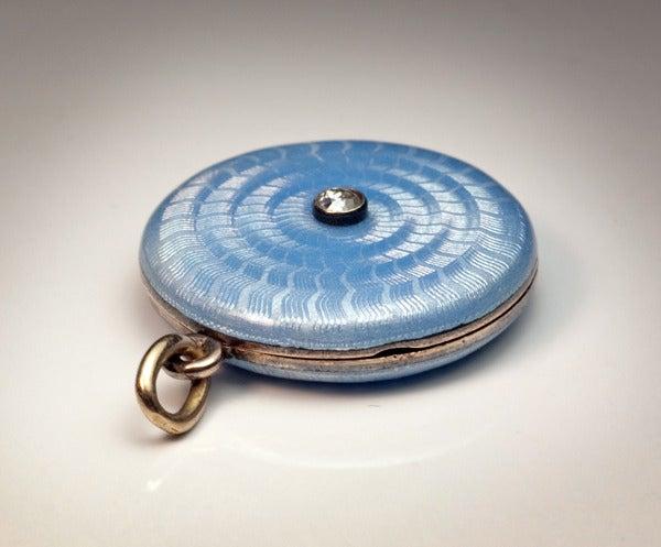 Antique Faberge Guilloche Enamel Locket Pendant 4