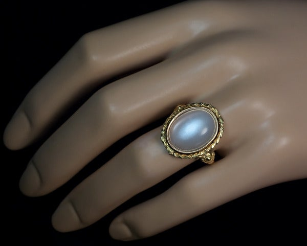 Renaissance Style Antique Moonstone Ring at 1stdibs