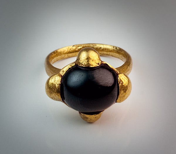 Antique Museum Quality Early Medieval Byzantine Gold Ring