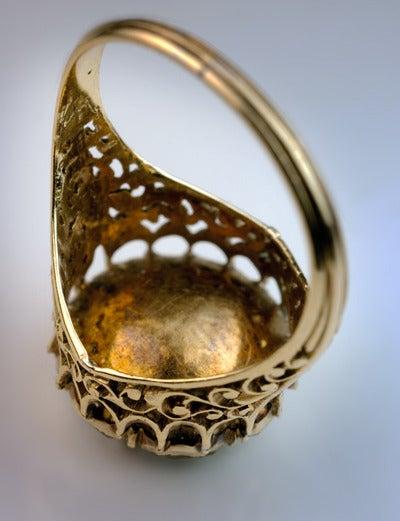 Antique Georgian Rose Cut Diamond Cluster Ring c1820 8