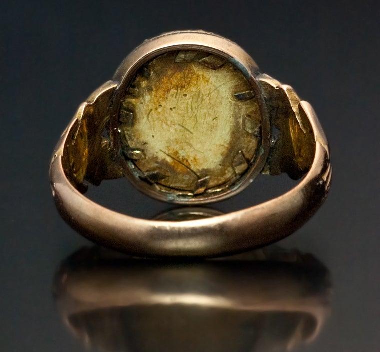 Royal Russian Diamond Gold Presentation Ring 4