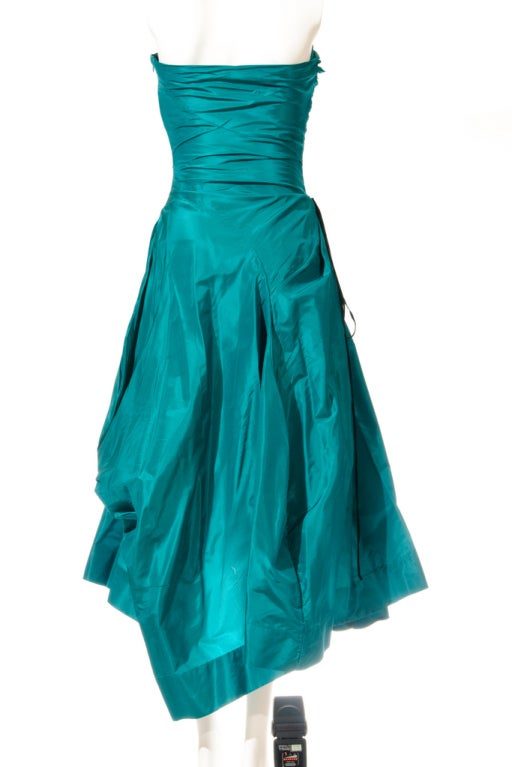 Vivienne Westwood Silk Evening Dress  4