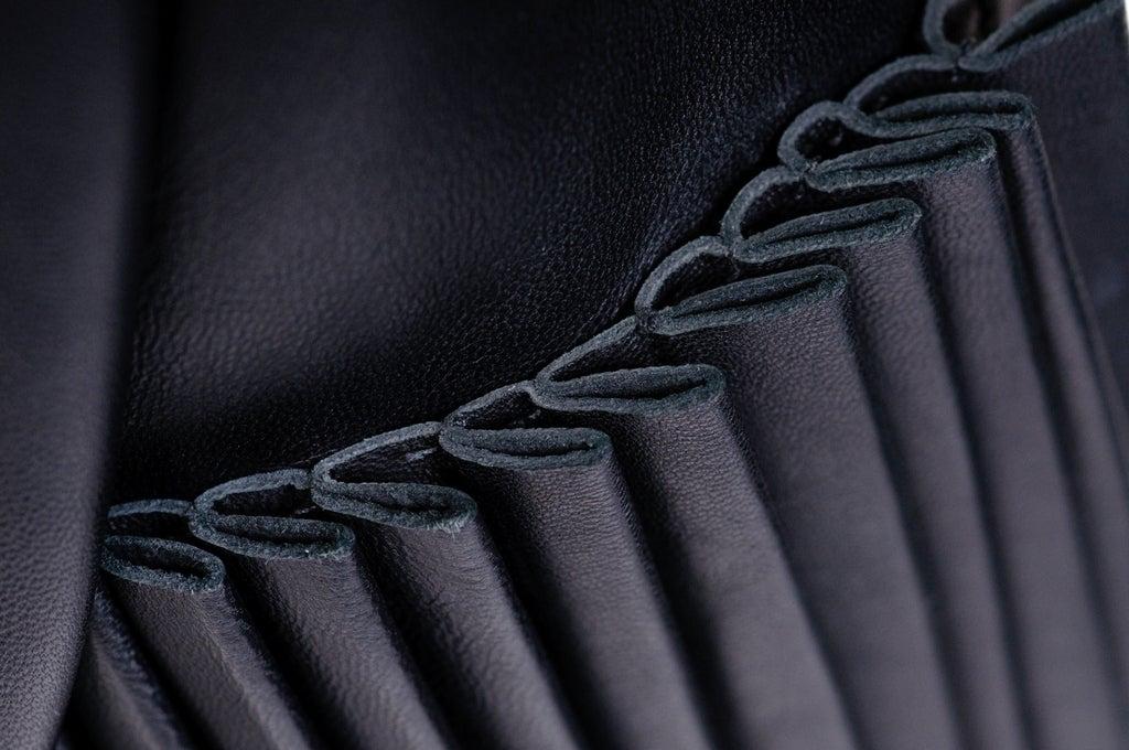 Christopher Kane dress in Black Leather & Velvet 8