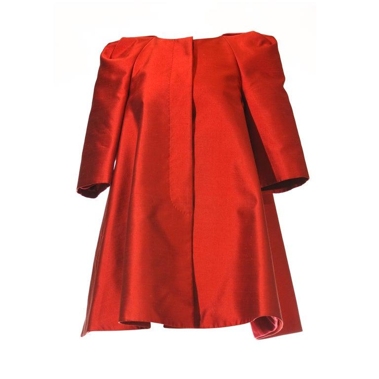 Alexander Mcqueen (2010 Fall Winter) Opera Coat 1