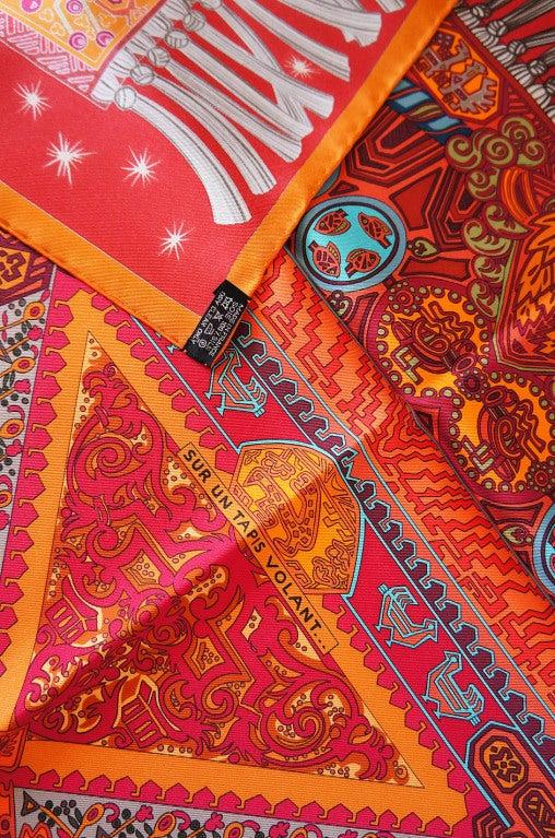 2006 sur un tapis volant hermes scarf at 1stdibs