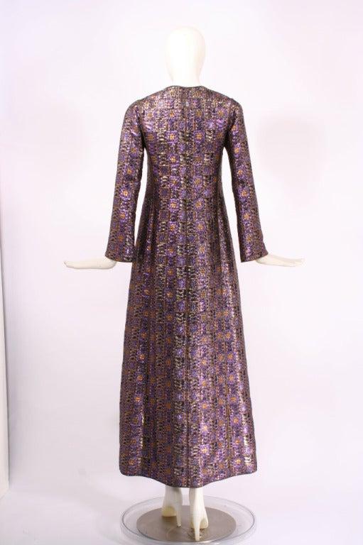 Yves saint laurent haute couture caftan coat dress 26440 for Haute couture dress price